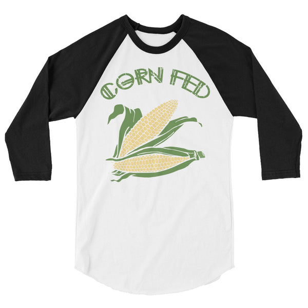 Corn Fed - Raglan - Shop Naughty AlwaysGay Clothing, Bags & Accessories