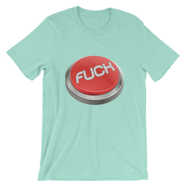 Fuck Button -T-Shirt - Shop Naughty AlwaysGay Clothing, Bags & Accessories