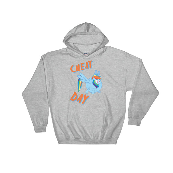 Cheat Day - Hooded Sweatshirt - Shop Naughty AlwaysGay Clothing, Bags & Accessories