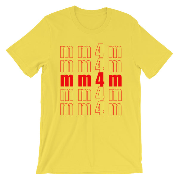 mm4m - T-Shirt - Shop Naughty AlwaysGay Clothing, Bags & Accessories