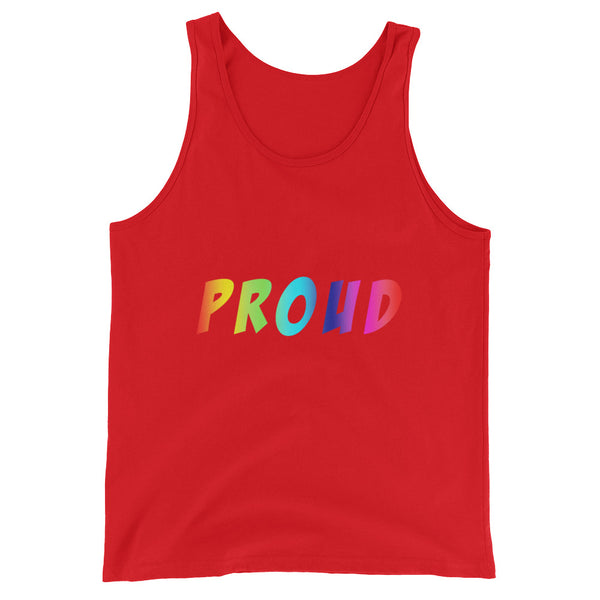 Proud - Tank Top - Shop Naughty AlwaysGay Clothing, Bags & Accessories
