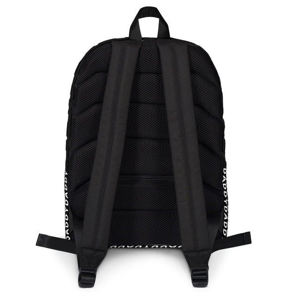 Daddy (Black) - Backpack - Shop Naughty AlwaysGay Clothing, Bags & Accessories