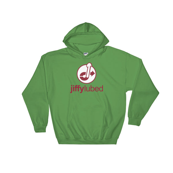 Jiffy Lubed - Hooded Sweatshirt - Shop Naughty AlwaysGay Clothing, Bags & Accessories