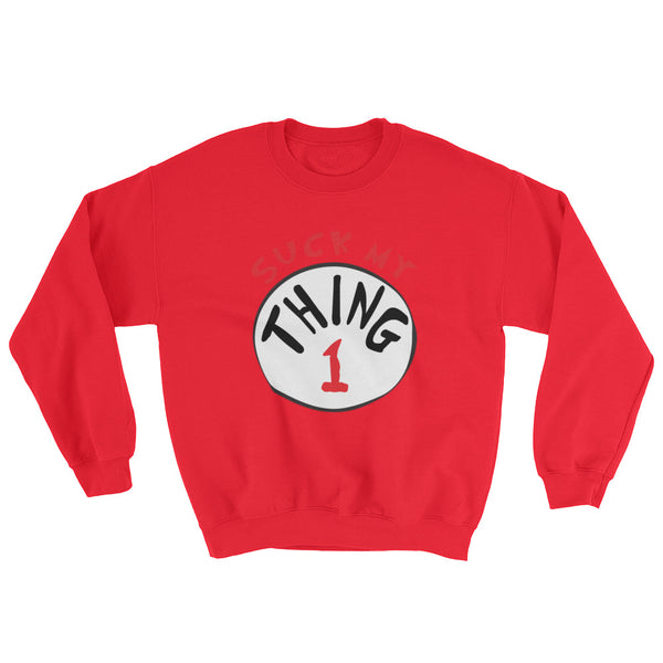 Thing 1 - Sweatshirt - Shop Naughty AlwaysGay Clothing, Bags & Accessories