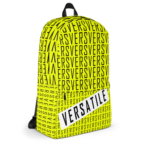 VERS (Yellow) - Backpack - Shop Naughty AlwaysGay Clothing, Bags & Accessories
