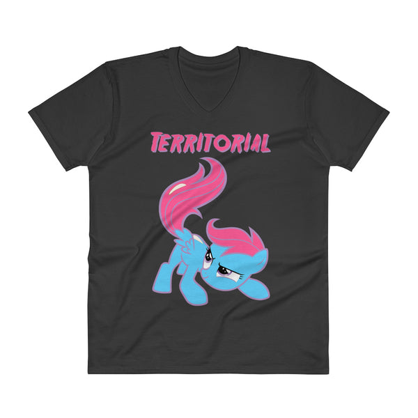 Territorial - V-Neck - Shop Naughty AlwaysGay Clothing, Bags & Accessories