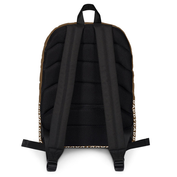 Daddy (Brown) - Backpack - Shop Naughty AlwaysGay Clothing, Bags & Accessories