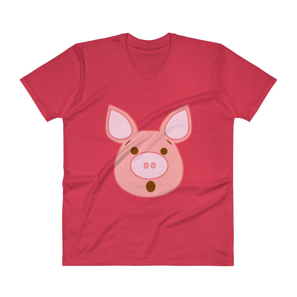 Piggy - V-Neck - Shop Naughty AlwaysGay Clothing, Bags & Accessories