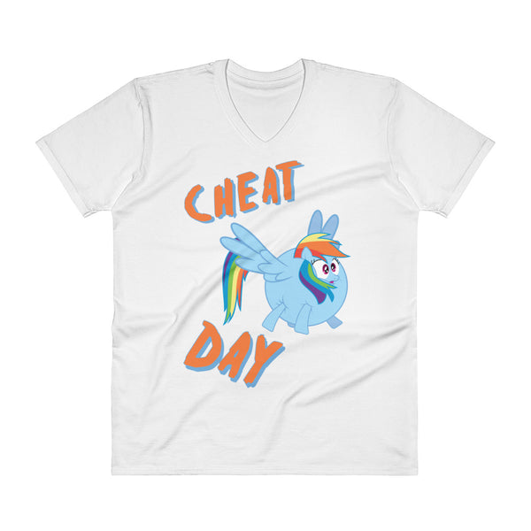 Cheat Day - V-Neck - Shop Naughty AlwaysGay Clothing, Bags & Accessories