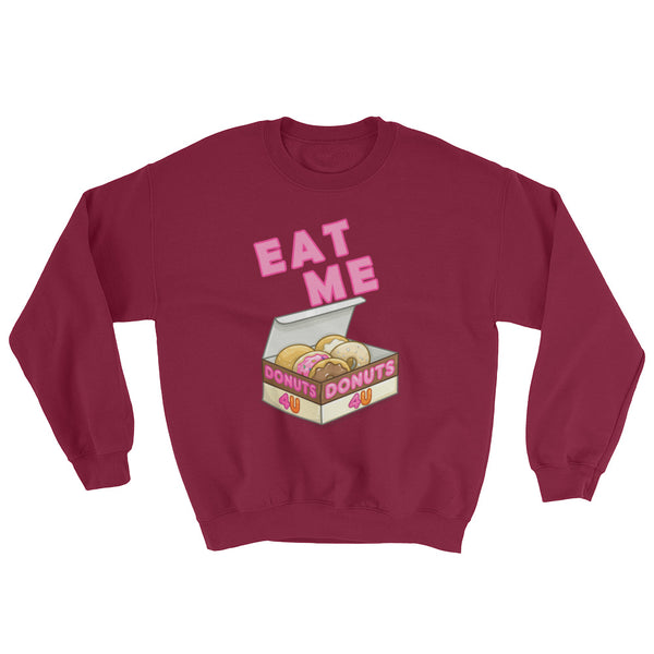 Eat Me - Sweatshirt - Shop Naughty AlwaysGay Clothing, Bags & Accessories