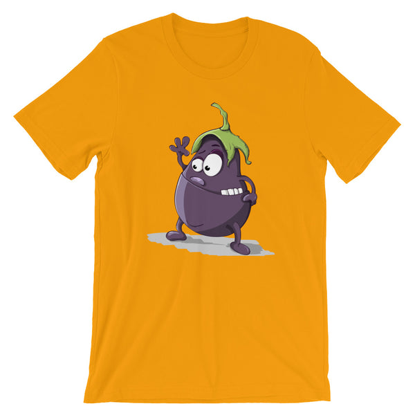 Crazy Eggplant - T-Shirt - Shop Naughty AlwaysGay Clothing, Bags & Accessories