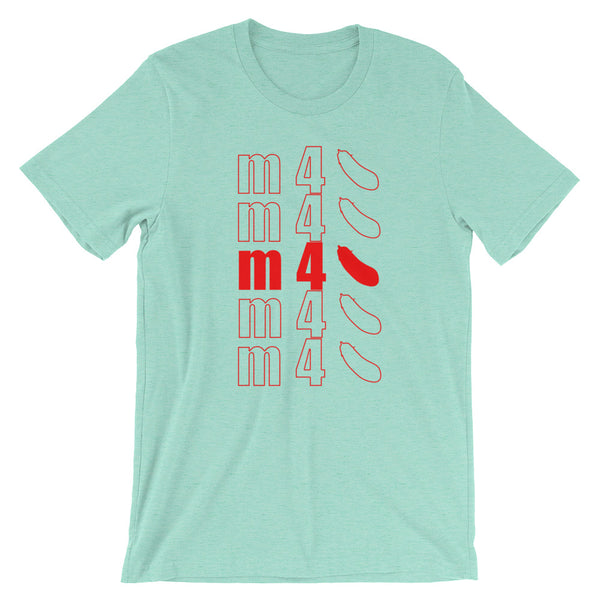 m4top - T-Shirt - Shop Naughty AlwaysGay Clothing, Bags & Accessories