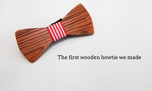 OffTheWood Origins: The birth of the wooden bowtie