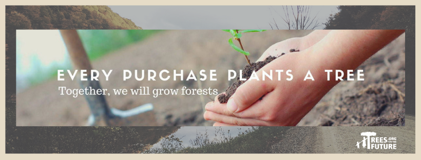 OffTheWood plants a tree for each product sold