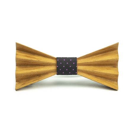 Stylish Wooden Bow Tie- OFFTHEWOOD