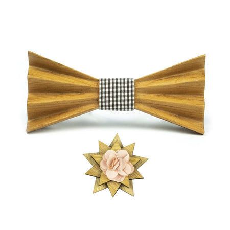 Wooden Bow Tie Accessories