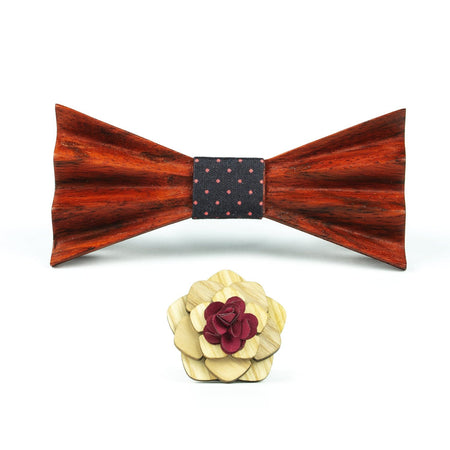 Wood bowtie Father's Day Gift