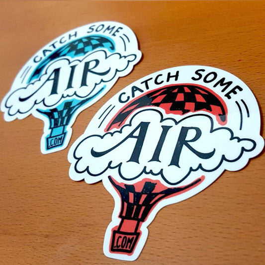 Sticker - Catch Some Air logo - 10pack
