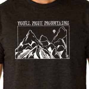 YOU'LL Move MOUNTAINS | unisex crew | charcoal