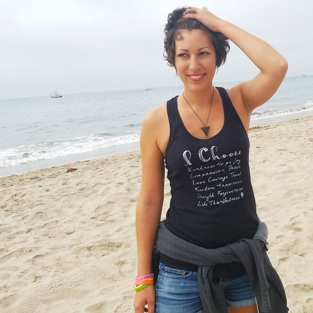I CHOOSE... | women tank | black