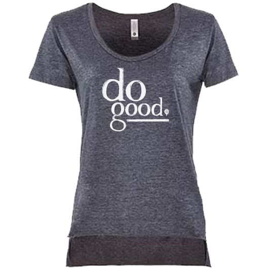 DO GOOD | women scoop | charcoal