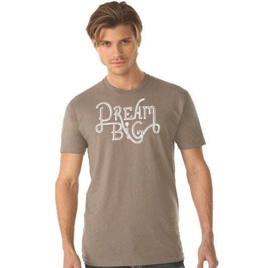 DREAM BIG | unisex tshirt | warm gray