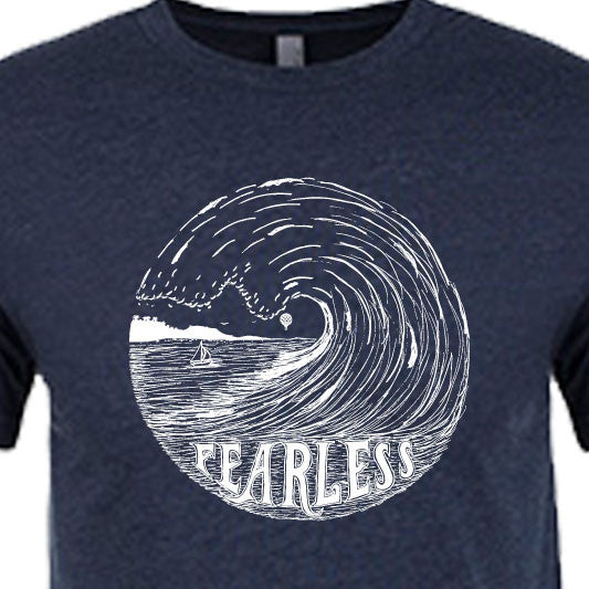 """FEARLESS"" crew/midnight navy"