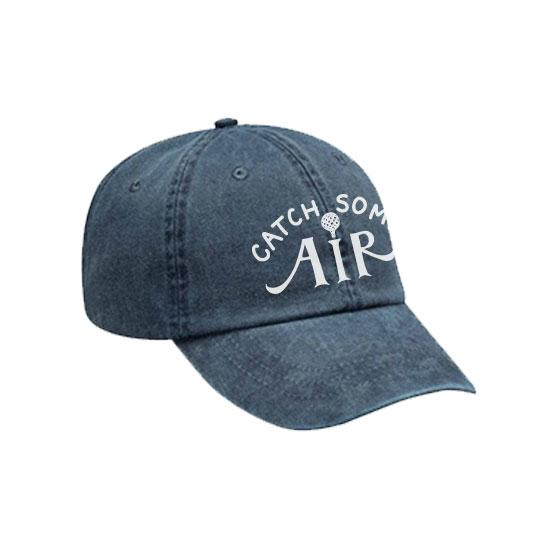 """CATCH SOME AIR"" baseball cap/faded"