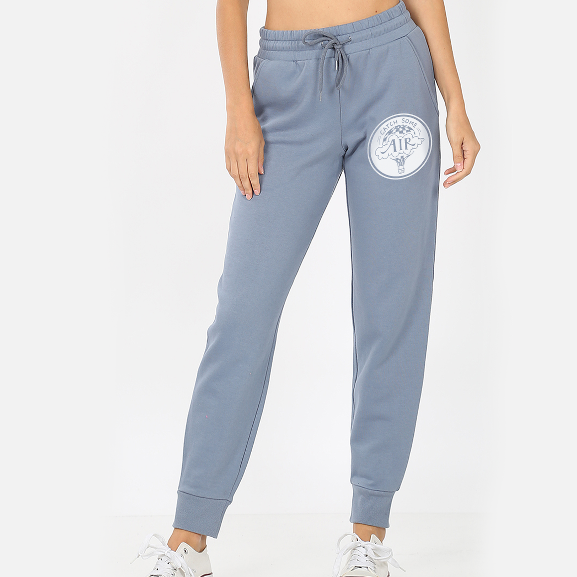 """CATCH SOME AIR"" logo - womens joggers"