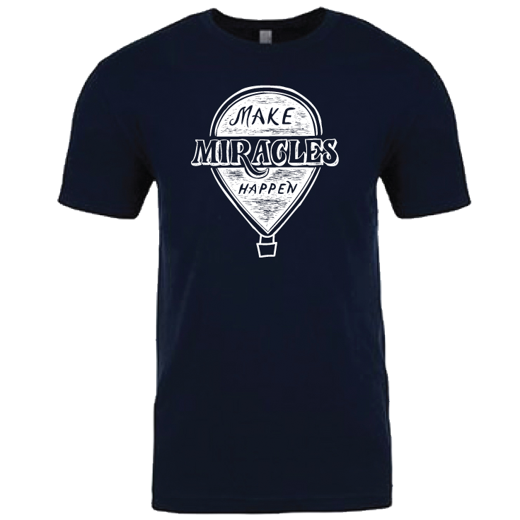 """MAKE MIRACLES HAPPEN"" crew/navy"