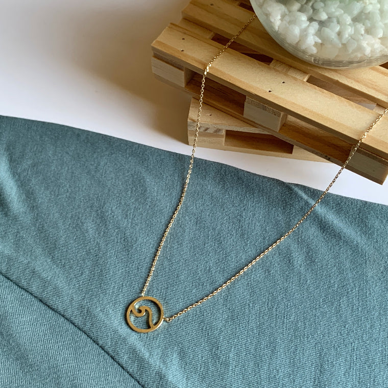 """WAVE"" necklace"