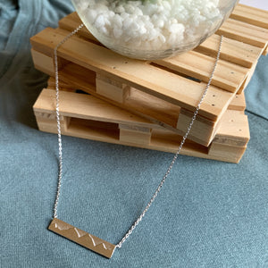 YOU'LL MOVE MOUNTAINS | necklace