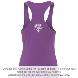 DREAM BIG | women tank | navy