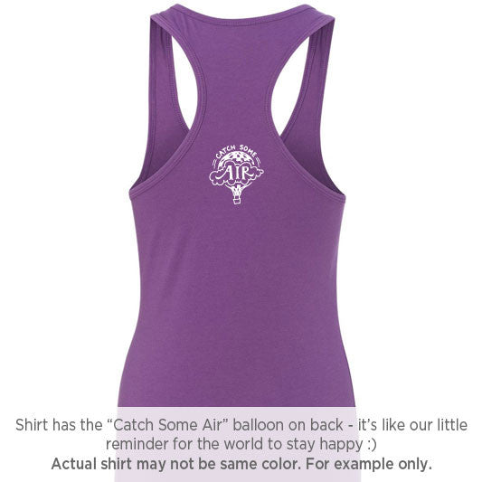 """CATCH SOME AIR"" Logo tank - LIMITED PRE-ORDERS"