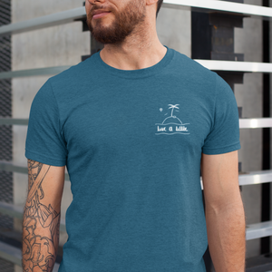 LIVE A LITTLE by #TeamMaddy | unisex tshirt | heather teal