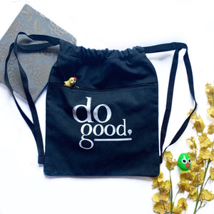 DO GOOD | drawstring bag