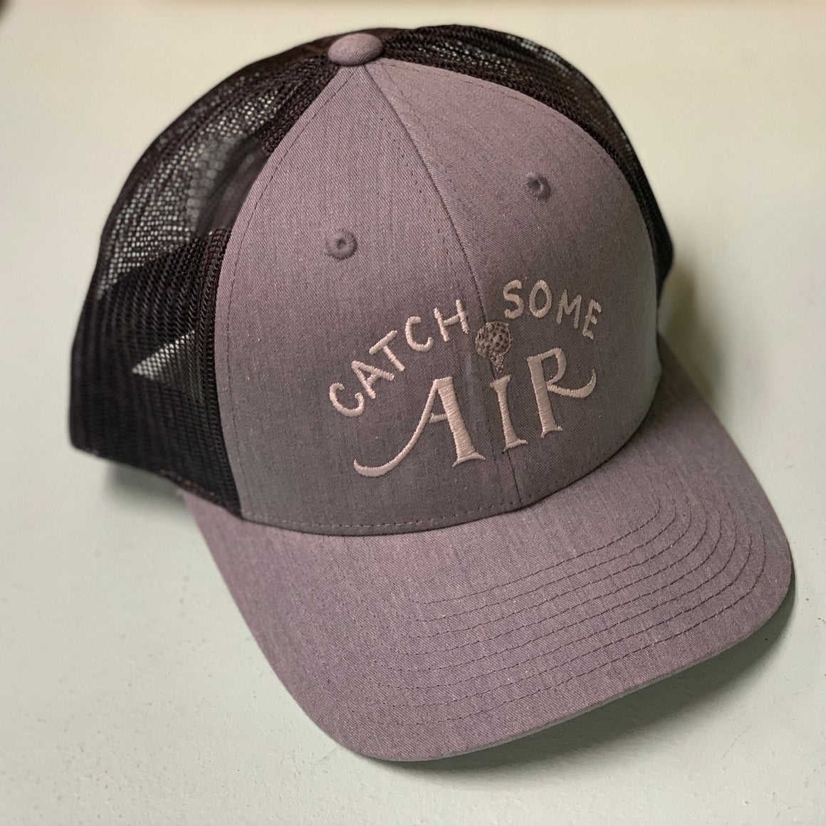 """CATCH SOME AIR"" low profile snapback hat"