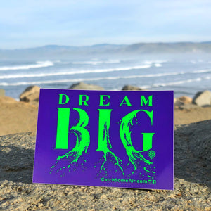 DREAM BIG | sticker