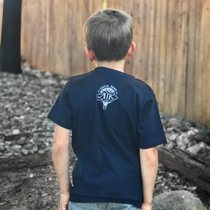 """DREAM BIG"" boys crew/navy"
