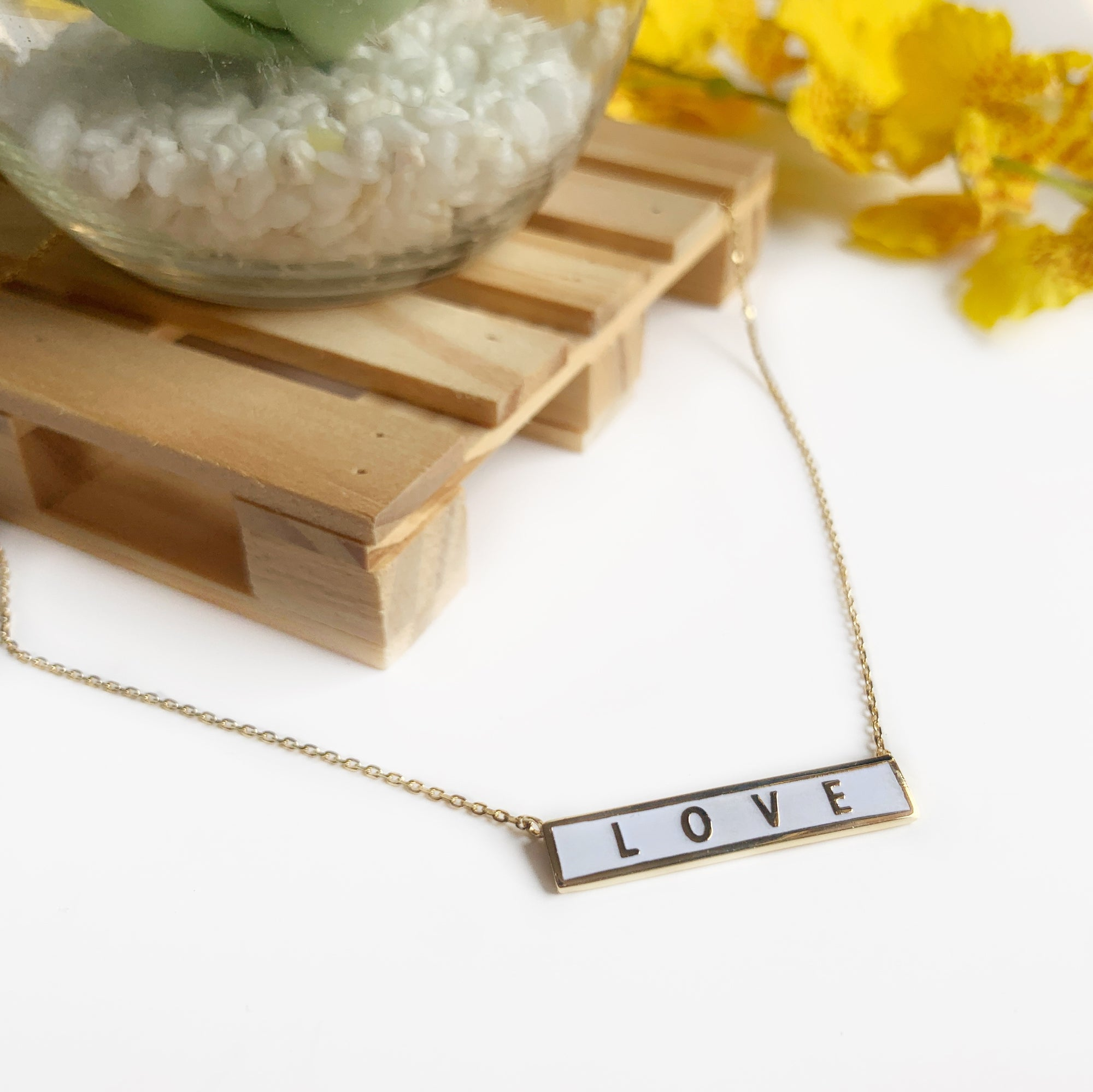 LOVE IS GREATER | necklace