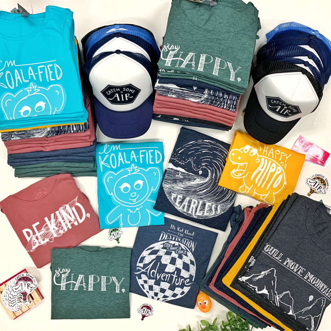 Package of Bestsellers (Bonus: 15 FREE Hats + Sticker Pack!)