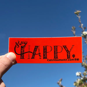 STAY HAPPY | sticker