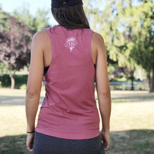It's Not About The DESTINATION It's About The ADVENTURE (balloon) | women muscle tank