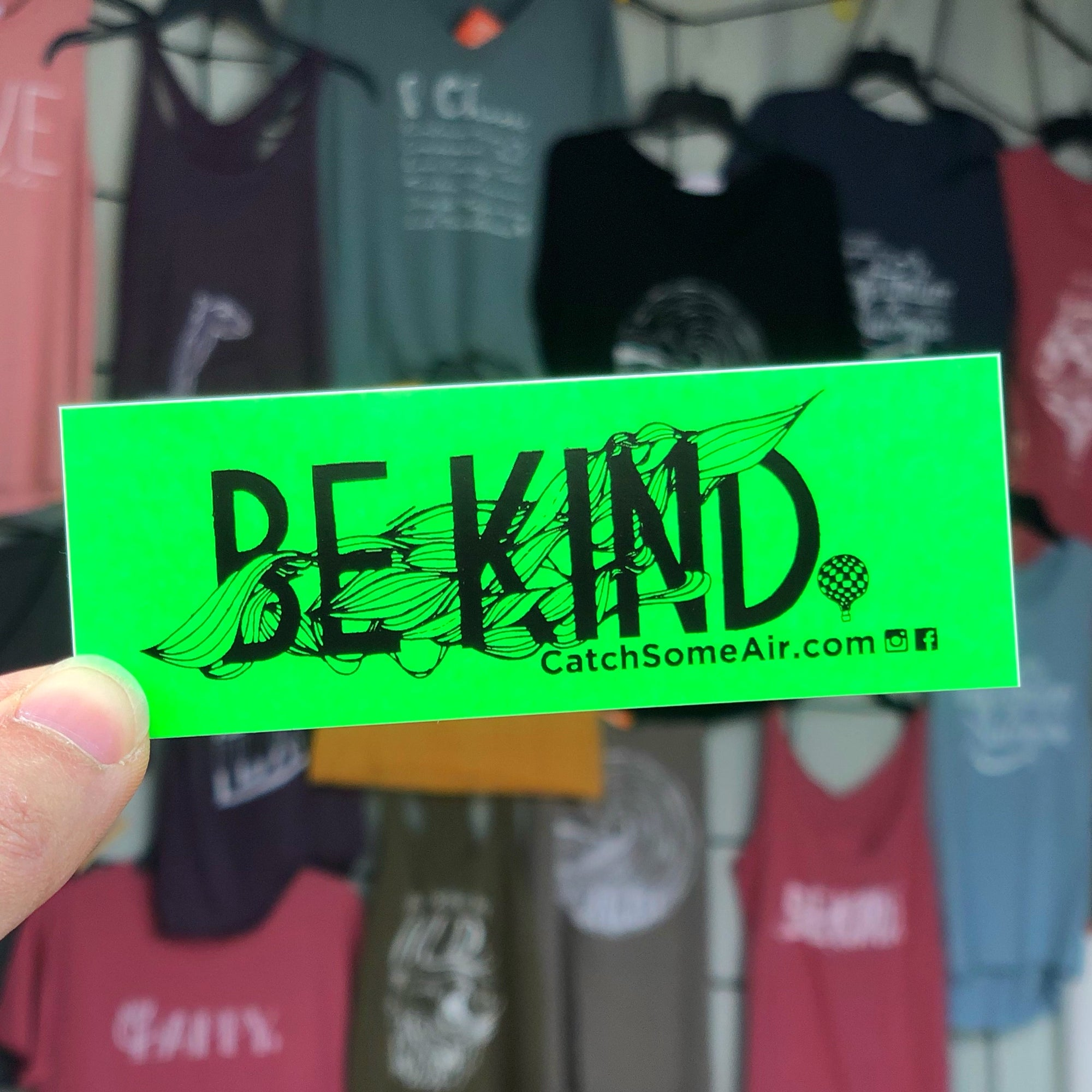 BE KIND | sticker