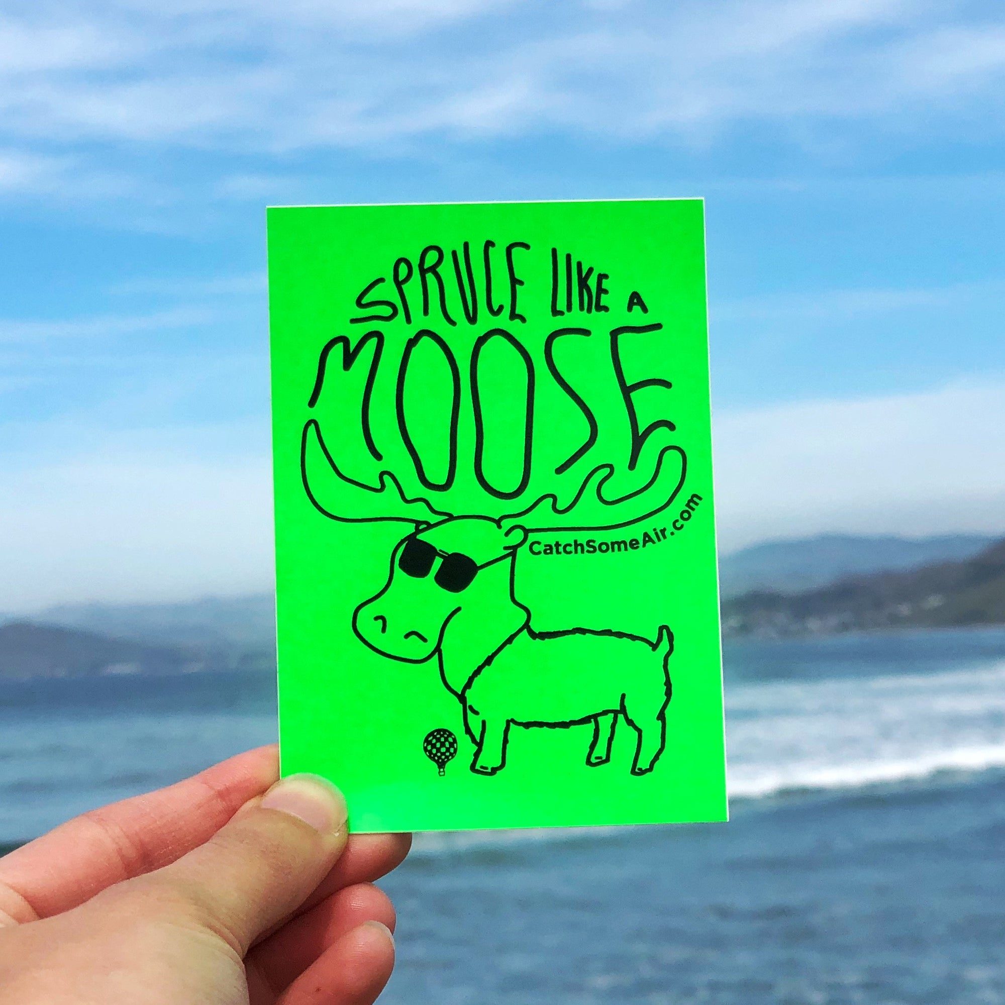 SPRUCE Like a MOOSE | sticker