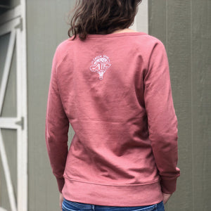 DO GOOD | women lightweight sweatshirt | pink