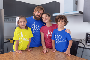 DO GOOD | boys crew | royal blue