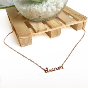 DREAM BIG | necklace