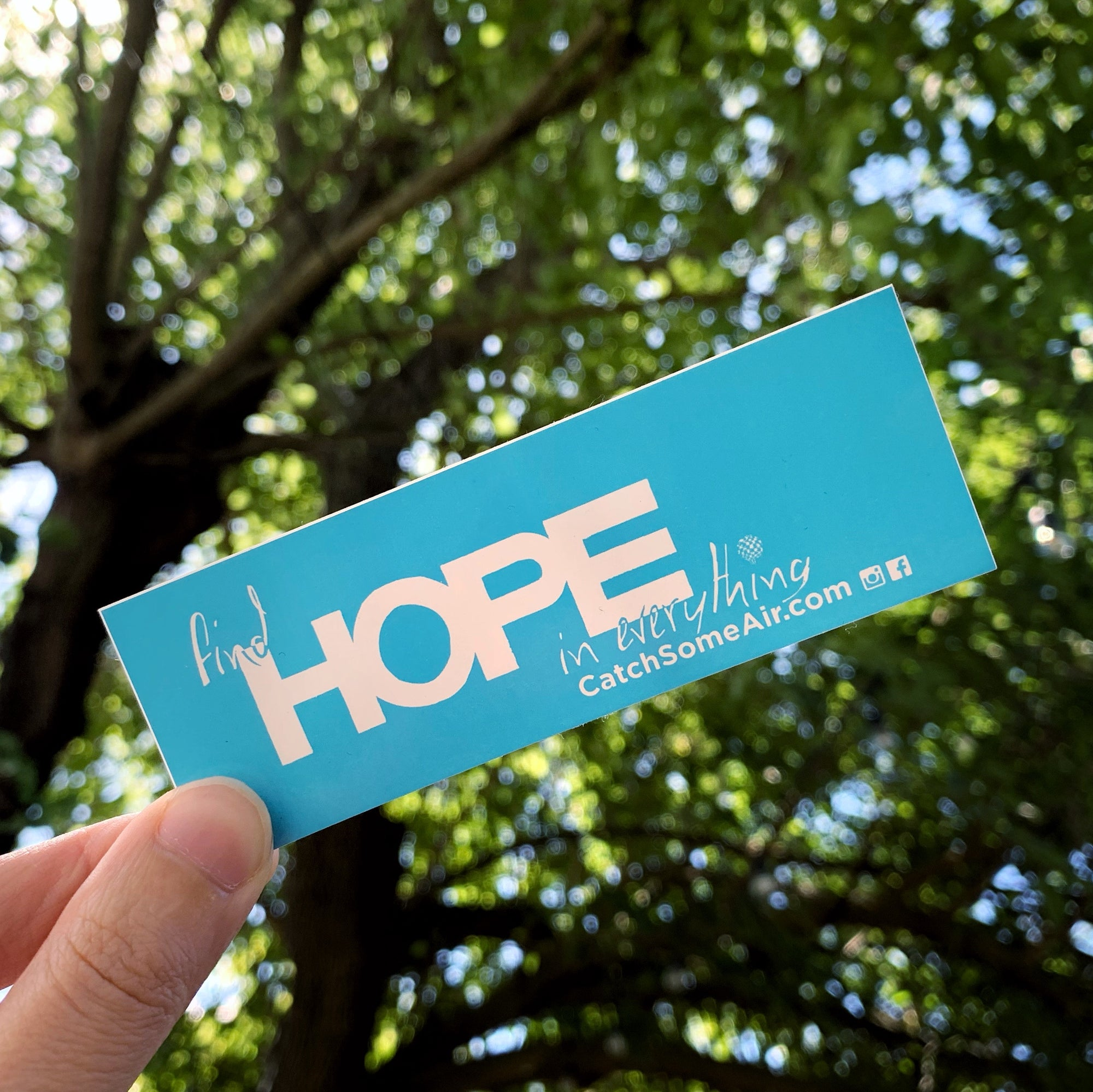 FIND HOPE IN EVERYTHING | sticker