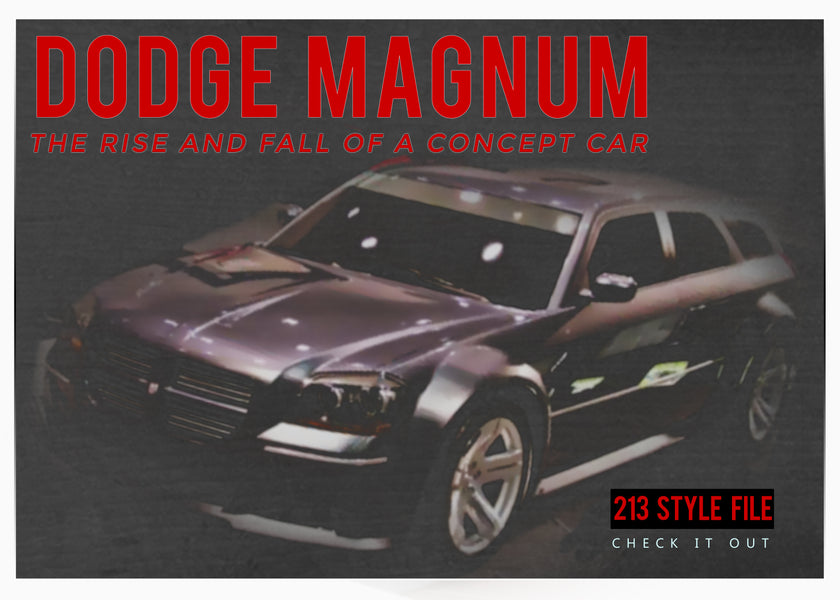 THE DODGE MAGNUM - THE RISE AND FALL OF A CONCEPT CAR